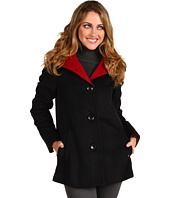 Ellen Tracy - Angora Colorblocked Car Coat