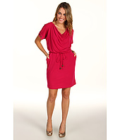 Muse - Grommet Trim Sleeve Dress