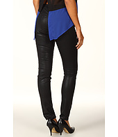 DKNY Jeans - Coated City Skinny in Jet