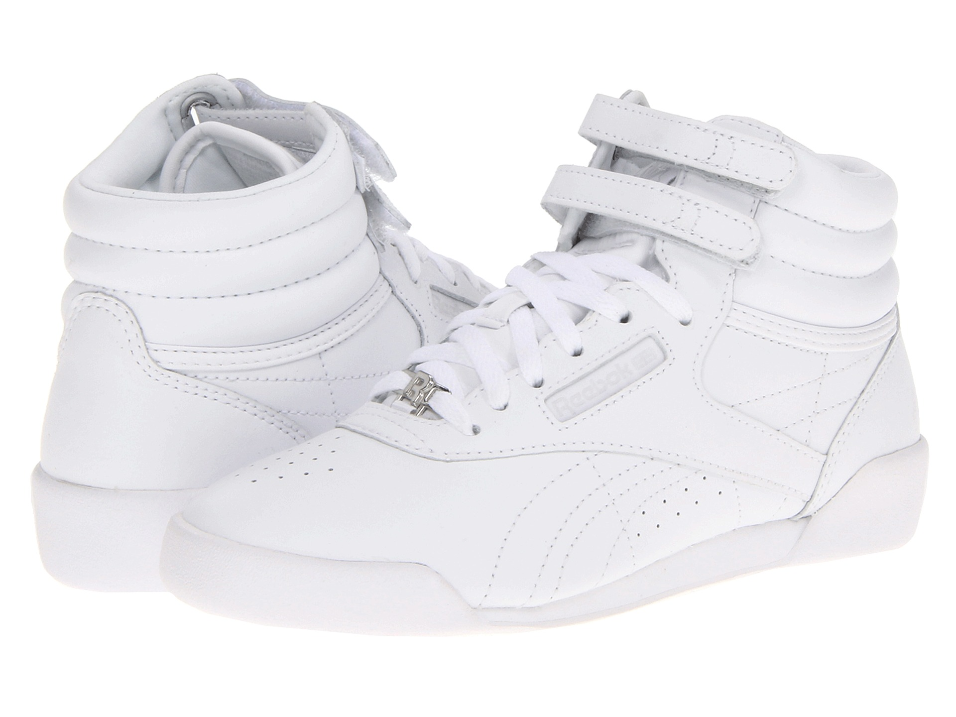 reebok kids freestyle hi classic shoes