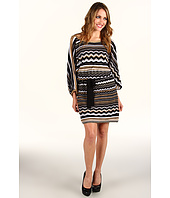 Laundry by Shelli Segal - Split Sleeve Blouson Sweater Dress