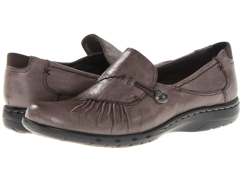 Rockport Cobb Hill Collection - Cobb Hill Paulette (Grey) Womens Slip-on Dress Shoes
