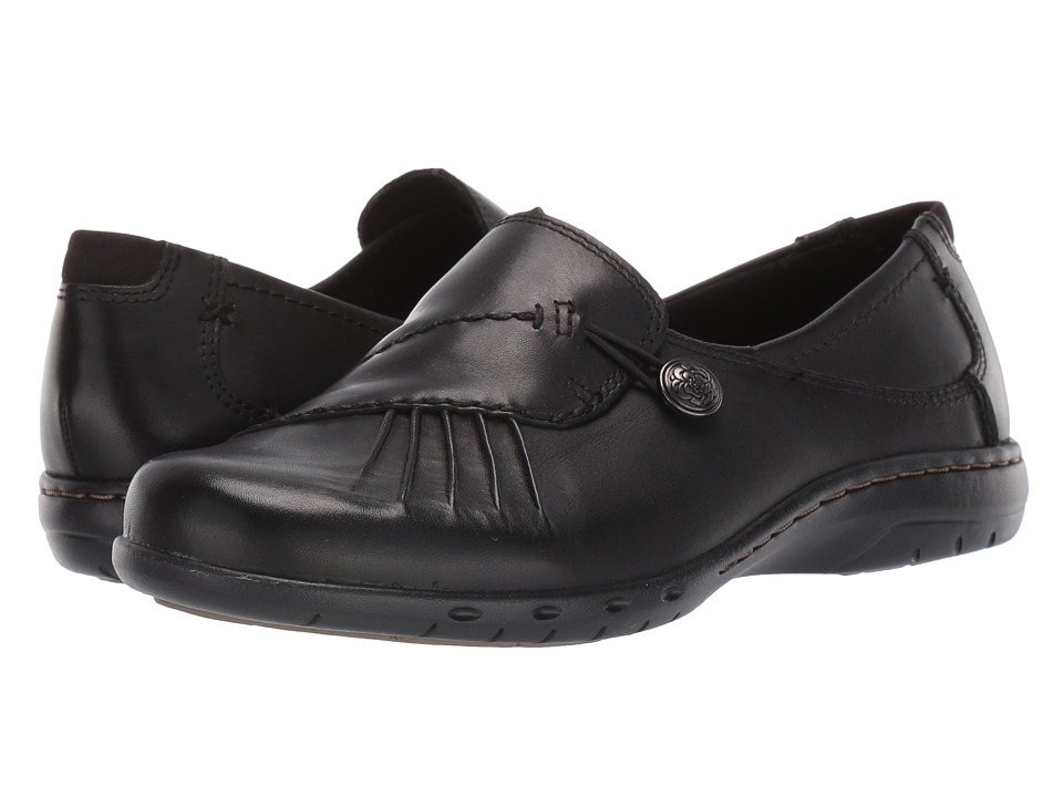 Cobb Hill Paulette Black Womens Slip on Dress Shoes