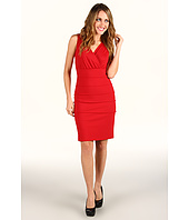 Laundry by Shelli Segal - Sleeveless V-Neck Banded Dress