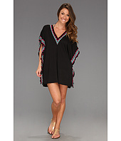 BECCA by Rebecca Virtue - French Riviera French Border Poncho Cover Up