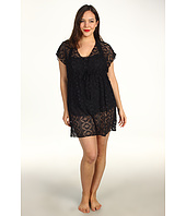 BECCA by Rebecca Virtue - Plus Size Marbella Tunic Cover-Up