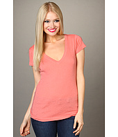 Hurley - Solid Perfect V-Neck Heathered Tee Juniors