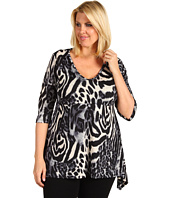 Karen Kane Plus - Plus Size Handkerchief Top