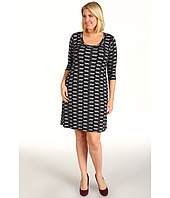 Karen Kane Plus - Plus Size Cheetah Dress