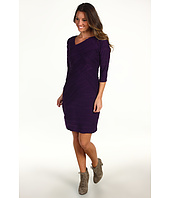Donna Morgan - Megan Textured 3/4 Sleeve Dress