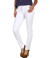7 For All Mankind - The Slim Cigarette in Clean White