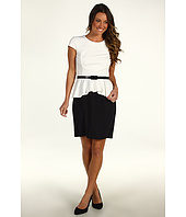 Donna Morgan - Sloane Colorblock Peplum Dress