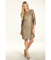 Donna Morgan - Jenna Metallic Lace Slip Dress