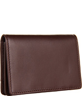 Boconi Bags and Leather - Collins Calf Rock Solid - Deluxe Card Case