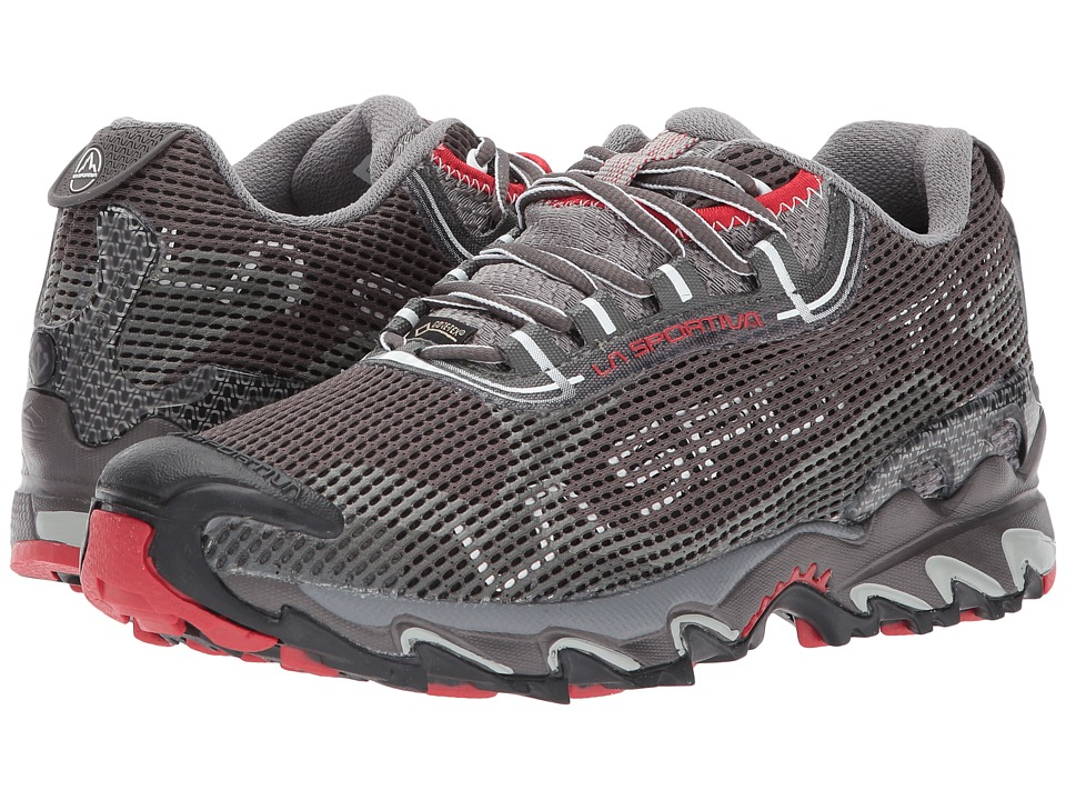 La Sportiva - Wildcat 2.0 GTX (Grey/Red) Womens Shoes