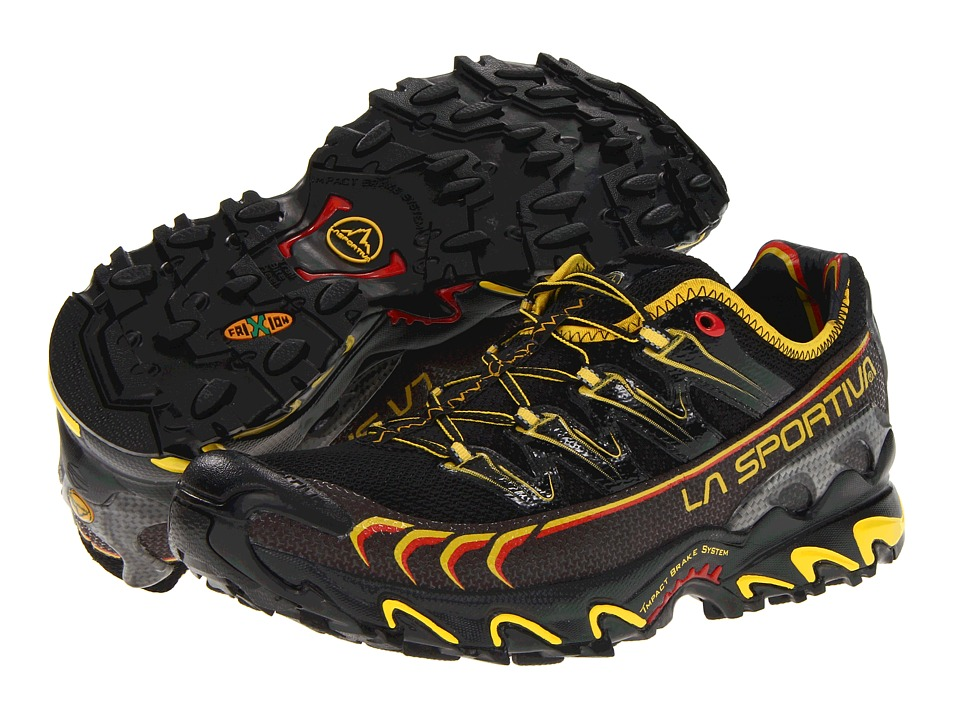 La Sportiva - Ultra Raptor (Black/Yellow) Mens Shoes