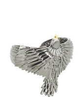 Elizabeth and James - Meadowlark Bird Cuff with White Sapphire