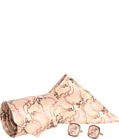 Cheap Stacy Adams Tie Hank Cuff Gift Set 50346 Tan