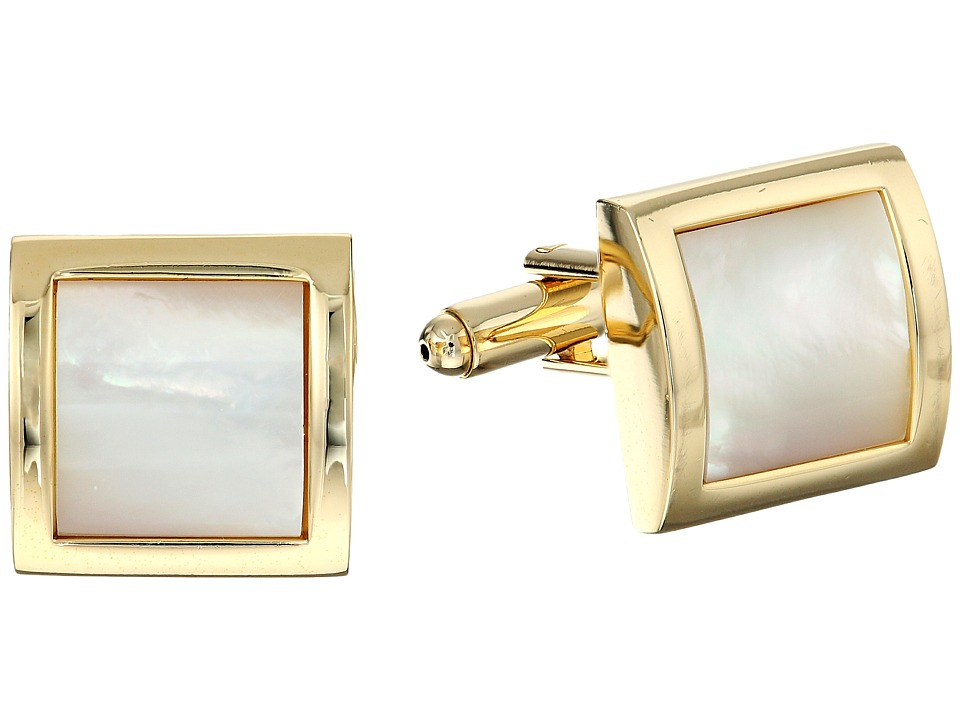 1920s Mens Accessories Stacy Adams - Cuff Link 13520 Gold Cuff Links $24.25 AT vintagedancer.com