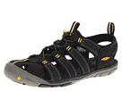Keen - Clearwater CNX (Black/Yellow) - Footwear