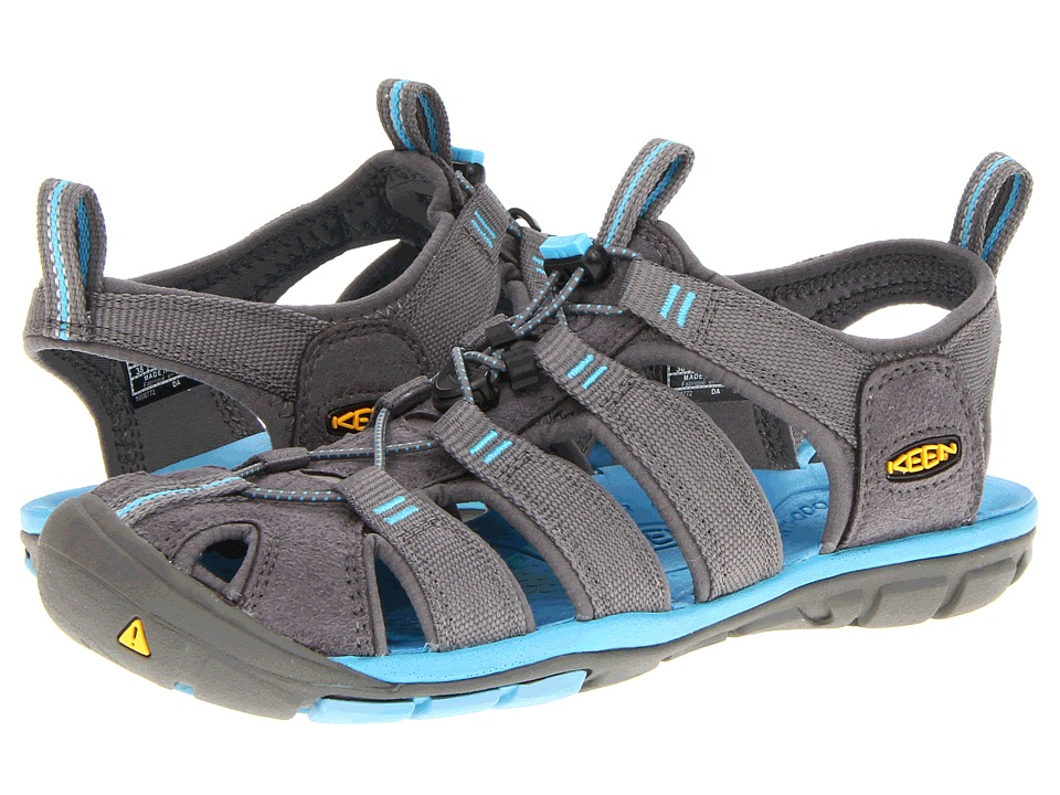 Keen Clearwater CNX (Gargoyle/Norse Blue) Women's Shoes