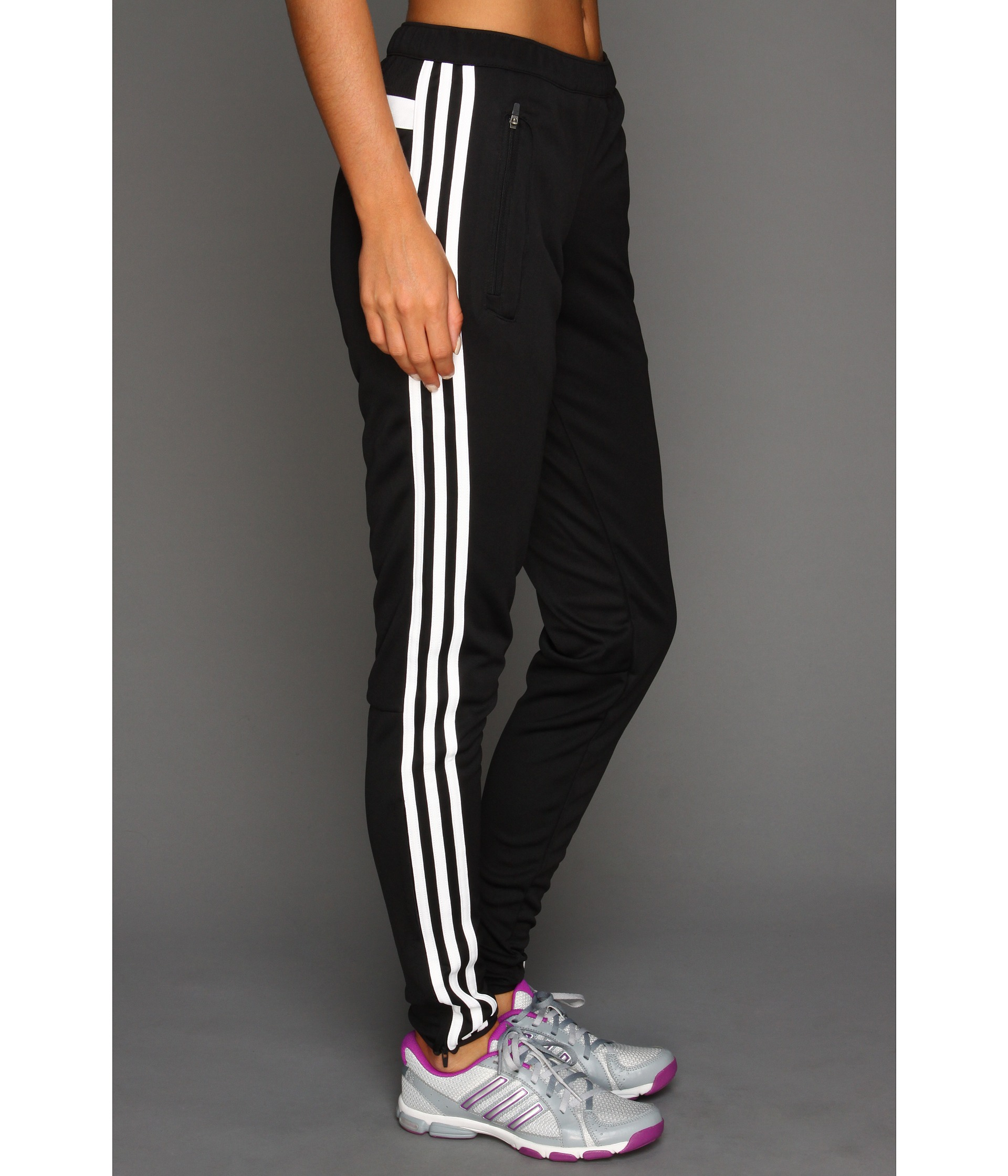 Amazing Women39s Adidas Soccer Pants Tiro 15 Slim Fit Climacool Black Skinny