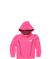 Puma Kids - Stripe Lined Fitted Hoodie (Big Kids)