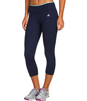 adidas - PowerLuxe Houndstooth 3/4 Tight