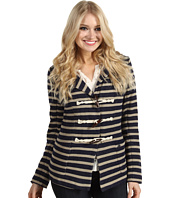 Quiksilver - Port Stripe Fleece Blazer