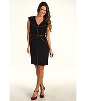 Ellen Tracy - Bi-Stretch Dress w/ Piping