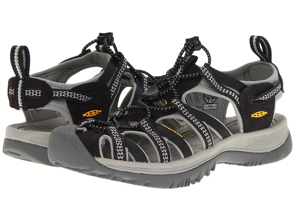 Keen Whisper (Black/Neutral Gray) Women's Sandals