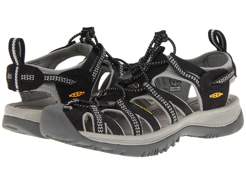 Keen Whisper (Black/Neutral Gray) Sandals