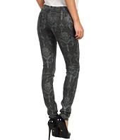 Joe's Jeans - The Skinny in Coated Black Baroque