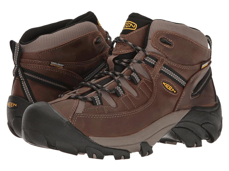 Keen - Targhee II Mid (Shitake/Brindle) Mens Waterproof Boots