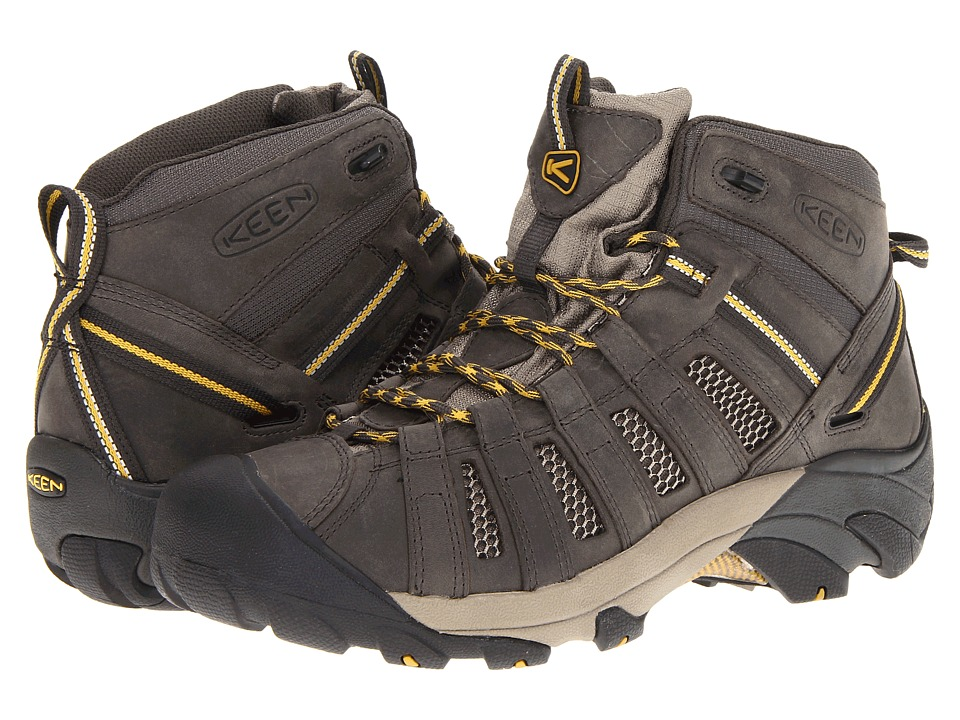 Keen - Voyageur Mid (Raven/Tawny Olive) Mens Hiking Boots