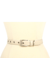 Rachel Zoe - Lamb Belt with Eyelets and Screw Buckle