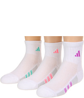 adidas Kids - Girls' Cushion 3-Pack Quarter