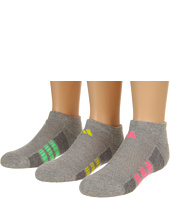 adidas Kids - Girls' Cushion 3-Pack No Show