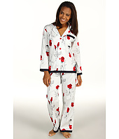 BedHead - Red Glamour Rose Ribbon Pajama Set