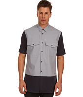 Vivienne Westwood MAN - Classic Stretch Poplin Short Sleeve Shirt