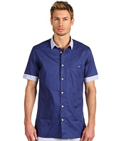 Vivienne Westwood MAN - Mix Fabric Short Sleeve Shirt