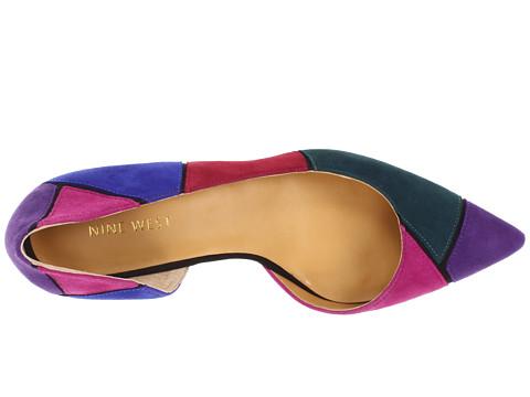 ناين ويست اللون الأسود أحذية بالكعب من ماركة ناين ويست