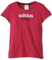 adidas Kids - Girls' Tennis Sequencials Logo Tee (Little Kids/Big Kids)
