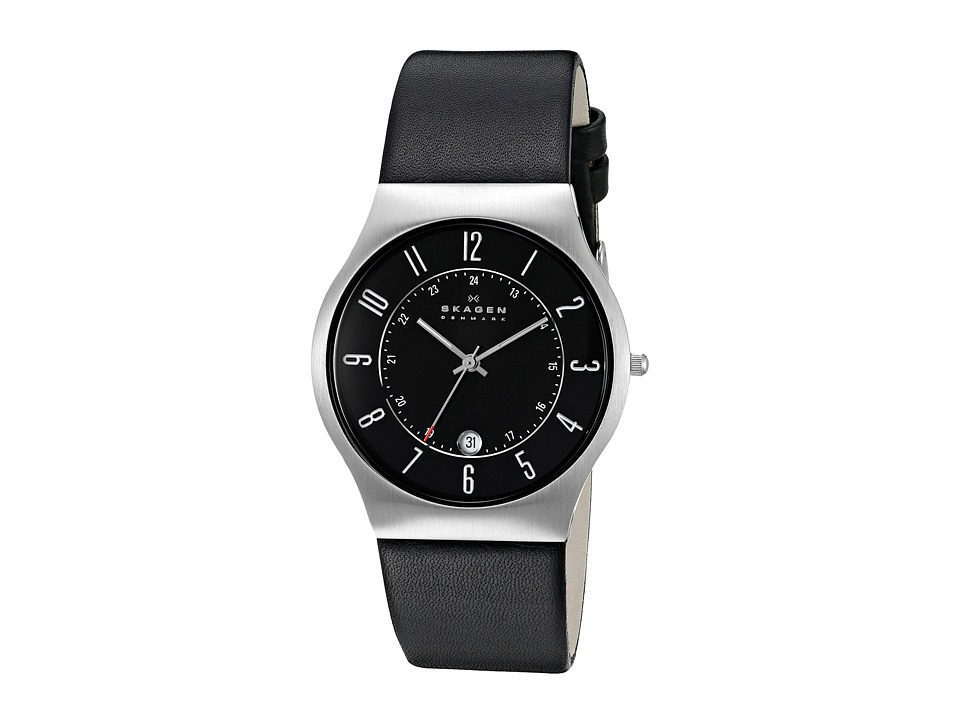 Skagen - 233XXLSLB (Black/Black) Analog Watches