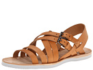 Alexander McQueen - Leather Sandal (Tan) Sandal