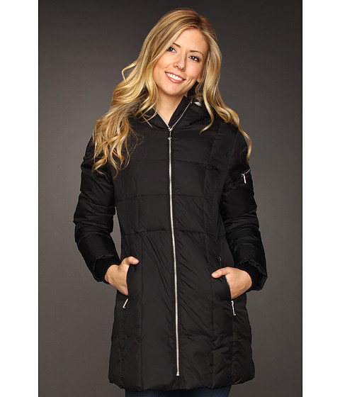 MICHAEL Michael Kors - Vicki Down Coat (Black) - Apparel