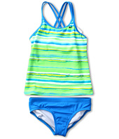 Nike Kids - Tie Dye Stripe Spider Back Tankini 2-Piece (Big Kids)