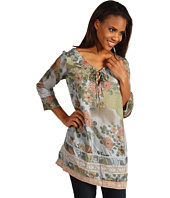 Johnny Was - 3/4 Sleeve Lace Insert Tunic