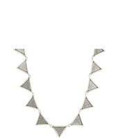 House of Harlow 1960 - Crosshatched Triangle Collar Necklace