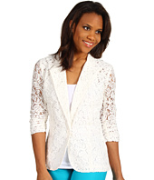 Karen Kane - South Beach Shirred Sleeve Lace Jacket